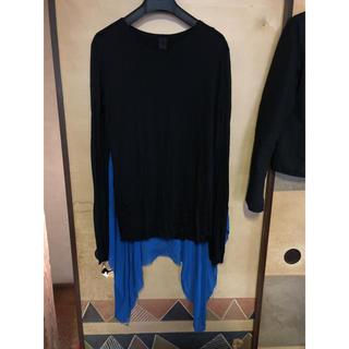 ガレスピュー(Gareth Pugh)のガレスピュー 切り替えロングシャツ(Tシャツ/カットソー(七分/長袖))