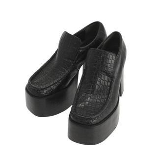 エモダ(EMODA)のna様専用   EMODA ヘビーボリュームローファー ブラック(ローファー/革靴)