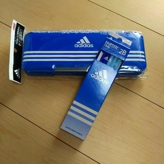 アディダス(adidas)のadidas  鉛筆 人気 最新 デザイン アディダス 新品 未使用 (ペンケース/筆箱)