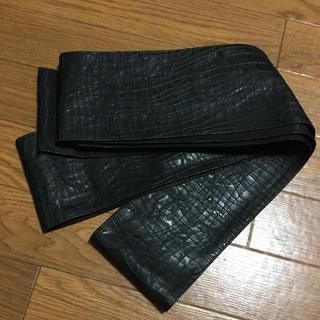 角帯 メンズ 男物 ブラック(帯)