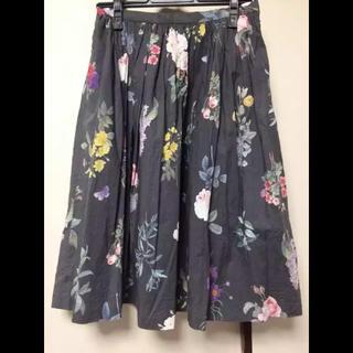シンディー(SINDEE)のsindee 花柄スカート ボタニカル(ひざ丈スカート)