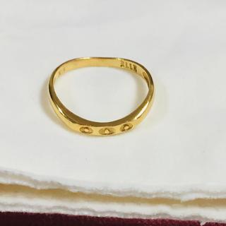 エル(ELLE)のK18.ピンキーリング (ジャンク)(リング(指輪))