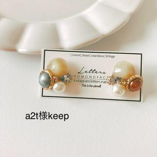 a2t様keep(ピアス)