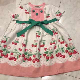 スタジオ012(studio 012)の韓国子供服 studio012  可愛いワンピース  サイズ100(ワンピース)