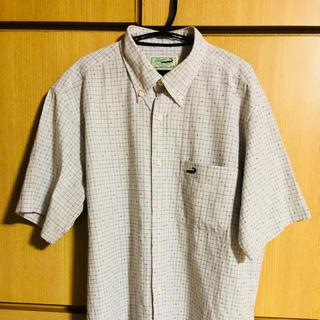 アンドバイピーアンドディー(&byP&D)の半袖チェックシャツ古着M(シャツ)