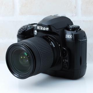 ニコン(Nikon)の☆Wi-Fi SDでスマホへ転送☆コンパクト☆ニコン D100 レンズセット☆(デジタル一眼)