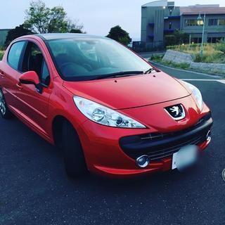 プジョー(Peugeot)のプジョー207 低走行3300キロ 車検31年1月(車体)
