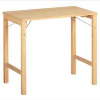 ムジルシリョウヒン(MUJI (無印良品))の無印 パイン材 折りたたみテーブル(折たたみテーブル)