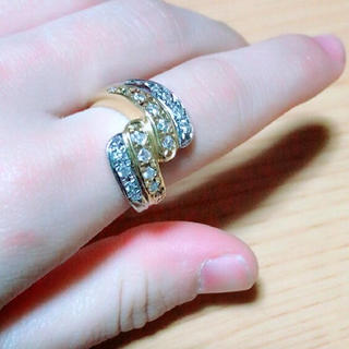 ジュエリーマキ(ジュエリーマキ)の豪華10g以上!ダイヤモンド×プラチナ×18K(リング(指輪))