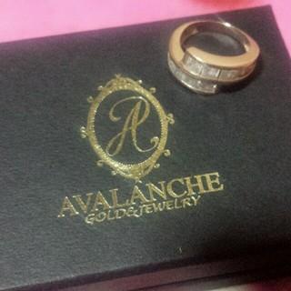 アヴァランチ(AVALANCHE)のAVALANCHEレッドゴールド リング(リング(指輪))