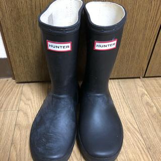 ハンター(HUNTER)のKids Hunter rain boots ハンターレインブーツ(長靴/レインシューズ)