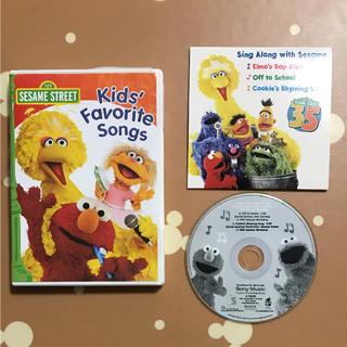 セサミストリート(SESAME STREET)のセサミストリートDVD&CD Kid's Favorite Songs英語アニメ(キッズ/ファミリー)