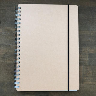 ムジルシリョウヒン(MUJI (無印良品))の無印良品 ダブルリングノート ドット方眼 A5サイズ(ノート/メモ帳/ふせん)