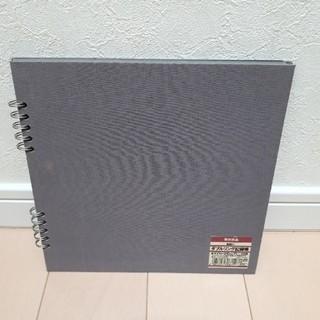 MUJI (無印良品) - 無印良品 布貼りダブルリング記録帳