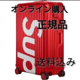 シュプリーム(Supreme)の60万円!Supreme×RIMOWA Topas  82L RED (トラベルバッグ/スーツケース)