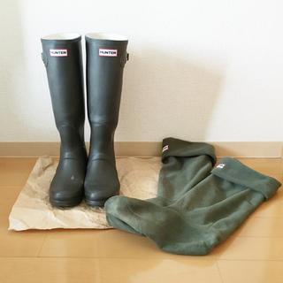 ハンター(HUNTER)のハンター レインブーツ ソックス付(レインブーツ/長靴)