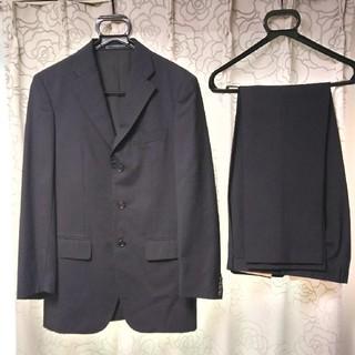 エルメネジルドゼニア(Ermenegildo Zegna)のTakchanz様  美品 ゼニア 濃紺ストライプスーツ(セットアップ)