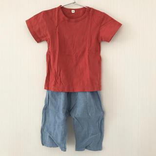 ムジルシリョウヒン(MUJI (無印良品))のyf様専用 48 無印良品 2点セット 半袖Tシャツ ステテコ(Tシャツ/カットソー)