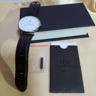 ダニエルウェリントン(Daniel Wellington)のDaniel Wellington腕時計 メンズ(レザーベルト)