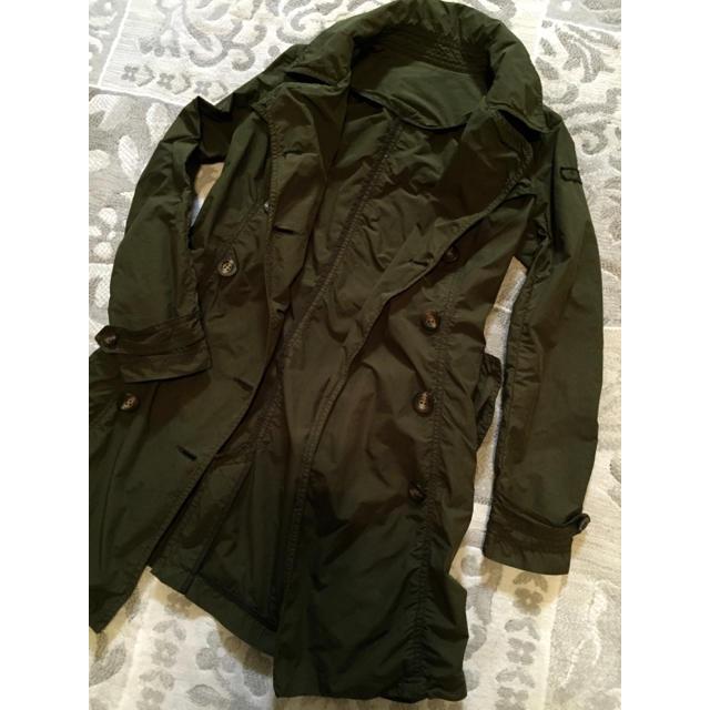 TATRAS(タトラス)のTATRUSタトラス カーキトレンチコートモッズコート レディースのジャケット/アウター(トレンチコート)の商品写真