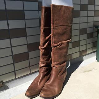 ワノナノ(WANONANO)のクニゴンさま専用 ワノナノ ブーツ ブラウン(ブーツ)