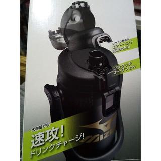 ミズノ(MIZUNO)の象印 ミズノ水筒 2.0L ブラック 新品未開封(日用品/生活雑貨)