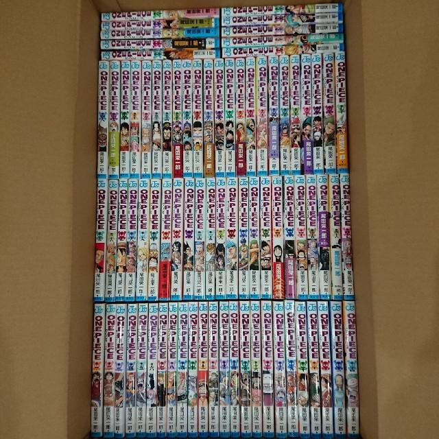 送料無料ワンピース豪華96冊全巻セットONEPIECEONE PIECE送料込み エンタメ/ホビーの漫画(全巻セット)の商品写真