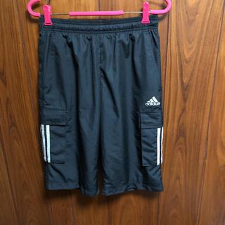アディダス(adidas)のadidas アディダス 男女兼用 シャカシャカ・黒&グレーカラーショートパンツ(ショートパンツ)