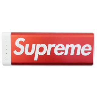 シュプリーム(Supreme)の ナッティー様専用supreme Mophie Encore Plus モバイル(バッテリー/充電器)