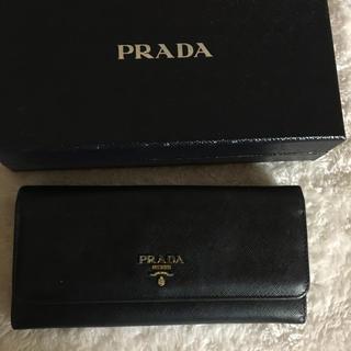 プラダ(PRADA)のプラダ  長財布    中古(財布)
