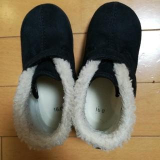 ムジルシリョウヒン(MUJI (無印良品))の無印子供ブーツ16センチ行った(ブーツ)