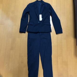 ジーユー(GU)のGU タグ付き ネイビー ジャケット パンツ(スーツ)