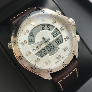 ハミルトン(Hamilton)のハミルトン 腕時計 カーキ アビエイション フライトタイマー アナデジ(その他)
