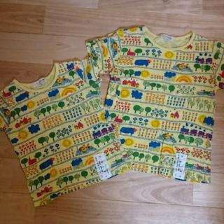 ニードルワークスーン(NEEDLE WORK SOON)の90 110 お揃いTシャツ(Tシャツ/カットソー)
