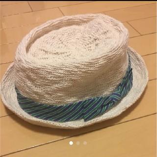 コーエン(coen)の帽子(麦わら帽子/ストローハット)
