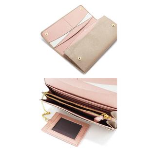 プラダ(PRADA)の【新品未使用】PRADAマルチカラー長財布 パスケース付き(財布)