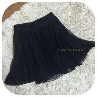 ローリーズファーム(LOWRYS FARM)のLOWRYS チュールスカート♡(ミニスカート)