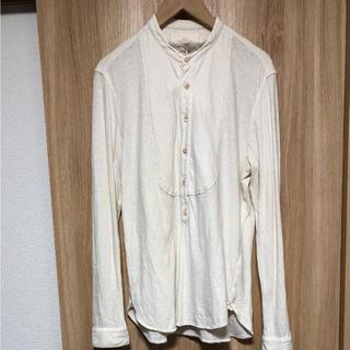 ネストローブ(nest Robe)のnest robe CONFECT バンドカラーシャツ(シャツ)