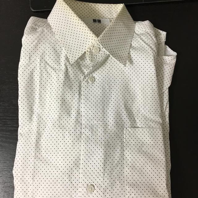 UNIQLO(ユニクロ)のUNIQLO ドットシャツ メンズのトップス(シャツ)の商品写真