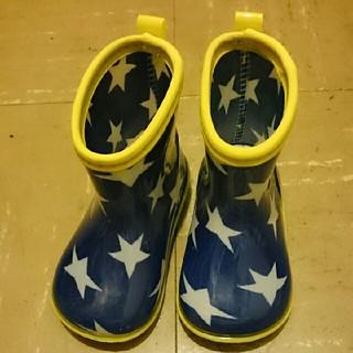 ムージョンジョン(mou jon jon)のキッズフォレスト ムージョンジョン 子供用 長靴 星柄 14㎝(長靴/レインシューズ)