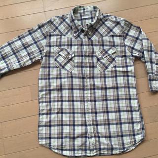 ダブテイル(Dovetail)のダブテイル 七分丈 チェックシャツ(Tシャツ/カットソー(七分/長袖))