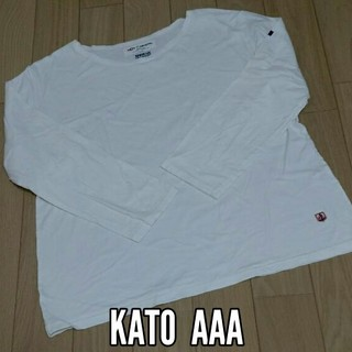 カトー(KATO`)のカトーAAA 長袖シャツ ロンT(Tシャツ/カットソー(七分/長袖))