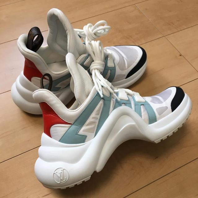 LOUIS VUITTON(ルイヴィトン)の LOUIS VUITTON☆アークライト☆希少☆ レディースの靴/シューズ(スニーカー)の商品写真