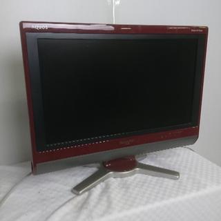 2010年製 シルバー 20V型液晶テレビ SHARP AQUOS LC-20DZ3-S