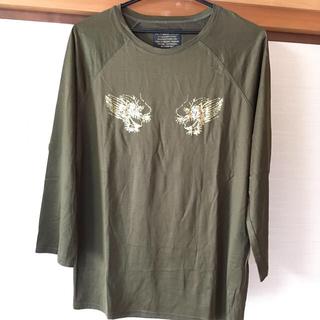 イズリール プリントTシャツ(七分袖)