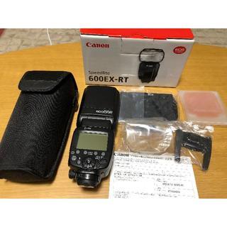 キヤノン(Canon)の【未使用新品】CANON キヤノン 600EX-RT スピードライト(ストロボ/照明)