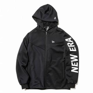 ニューエラー(NEW ERA)のニューエラ ウォームアップジャケット(size:M) ブラック(ジャージ)