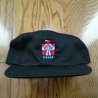 キャリー(CALEE)のCALEE Embroidery twill cap キャリー キャップ(キャップ)