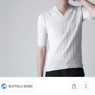 バッファローボブス(BUFFALO BOBS)の値下げしました!!BUFFALOBOBS サマーニット(Tシャツ/カットソー(半袖/袖なし))