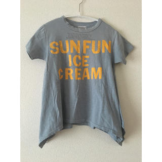 ゴートゥーハリウッド(GO TO HOLLYWOOD)のgotoHollywood 140 変形Tシャツ ロングTシャツ(Tシャツ/カットソー)